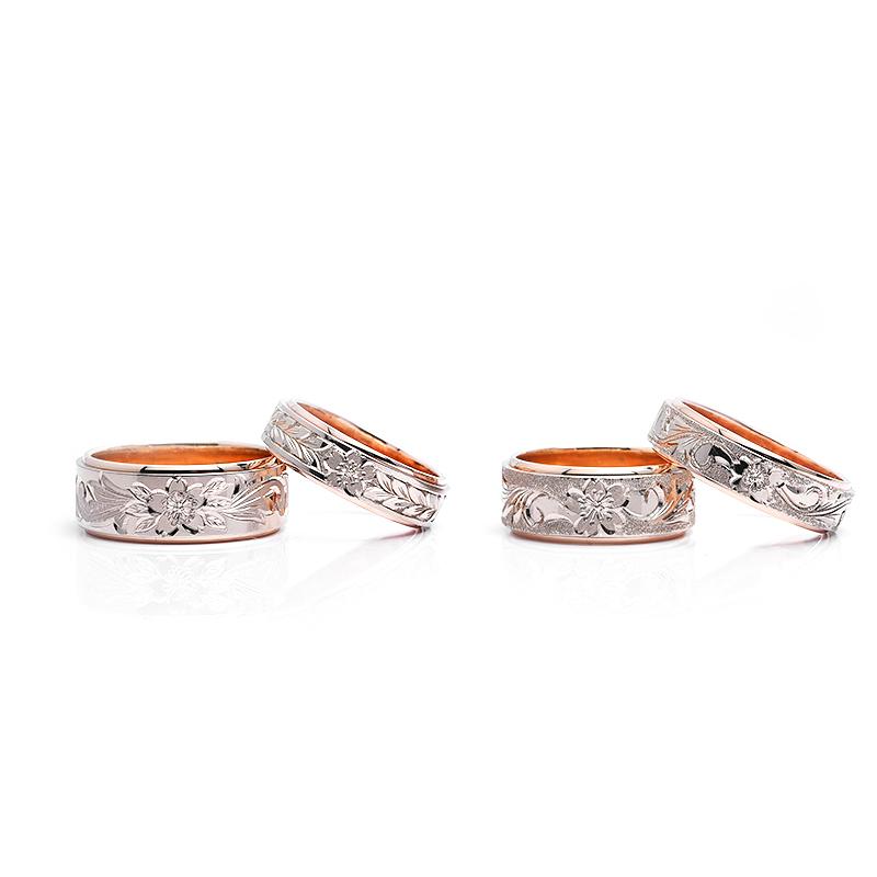 結婚指輪|桜4種.22