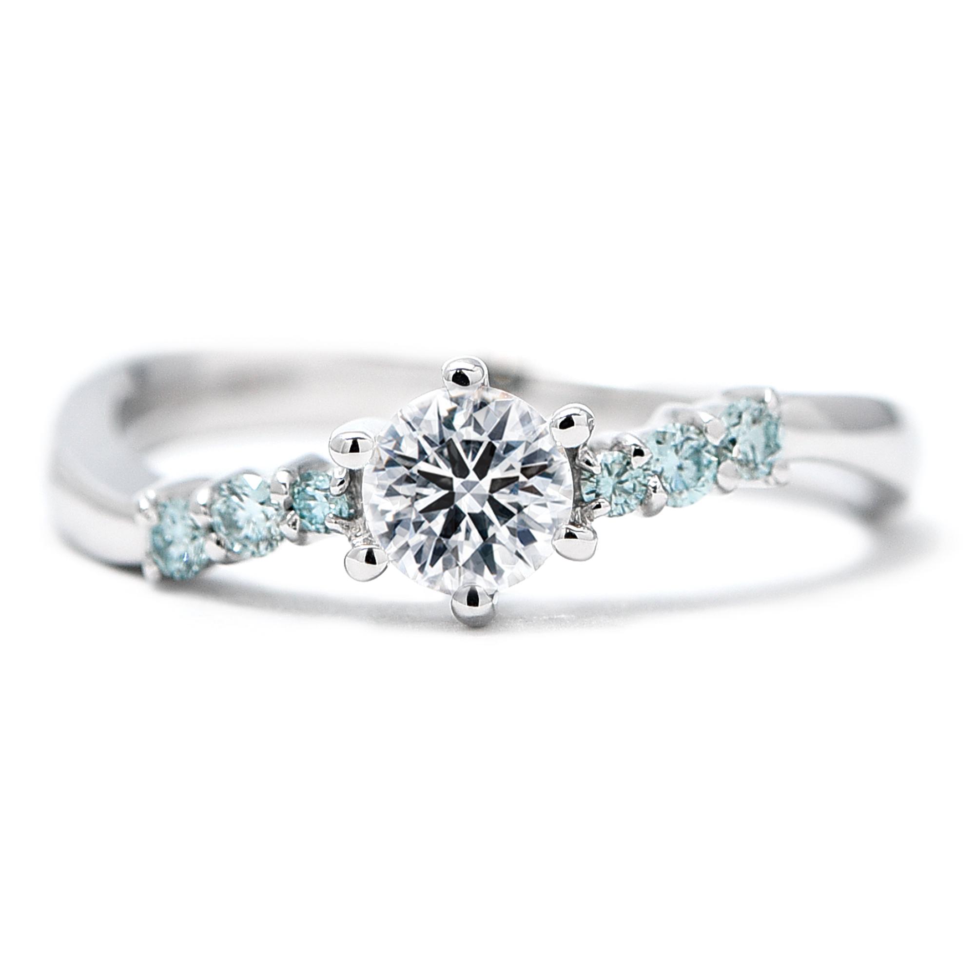婚約指輪差し替え分|WLD-73、74