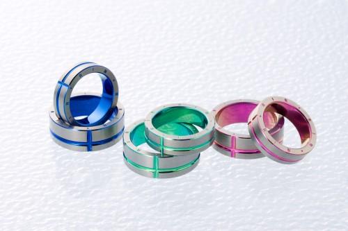 高崎工房の結婚指輪チタン (7)