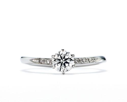 WLダイヤモンドの婚約指輪|煌・唐鋤星