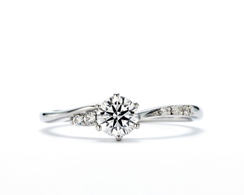 WLダイヤモンドの婚約指輪|煌・夏日星