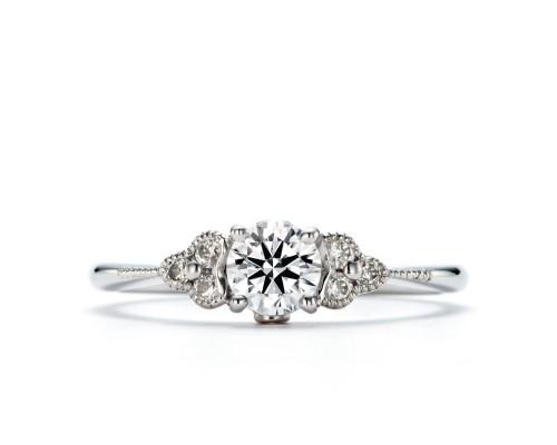 WLダイヤモンドの婚約指輪|煌・真珠星