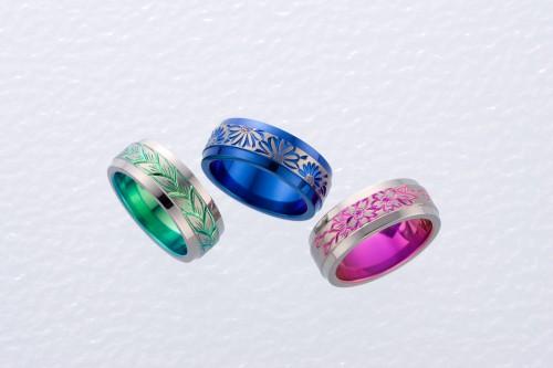 高崎工房の結婚指輪チタン (6)
