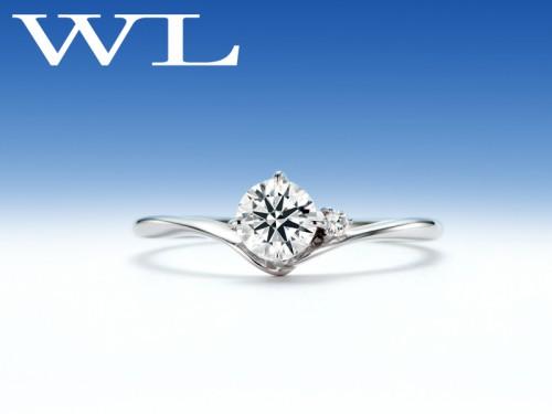 高崎工房の婚約指輪|羽白星