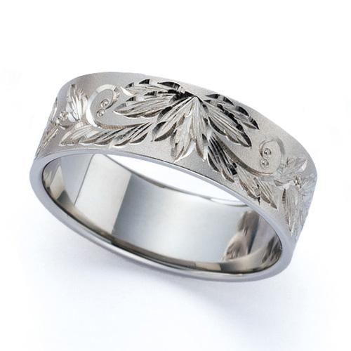 高崎工房の結婚指輪|韓紅花 b
