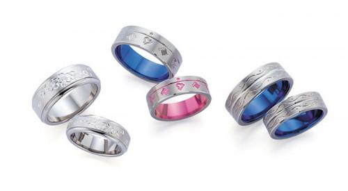 高崎工房の結婚指輪チタン