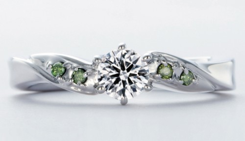 高崎工房の婚約指輪wld-12