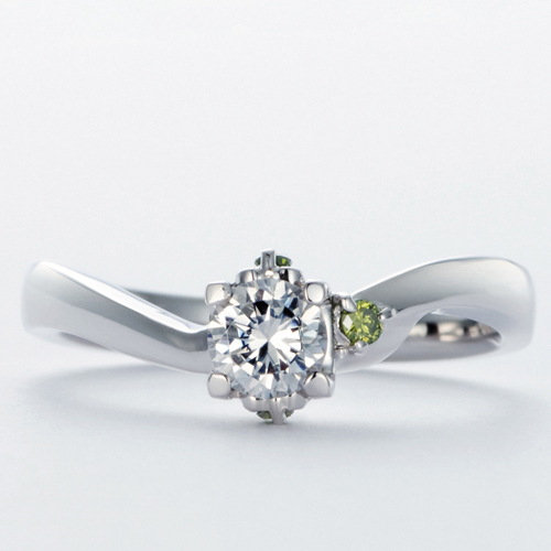 高崎工房の婚約指輪wld-82