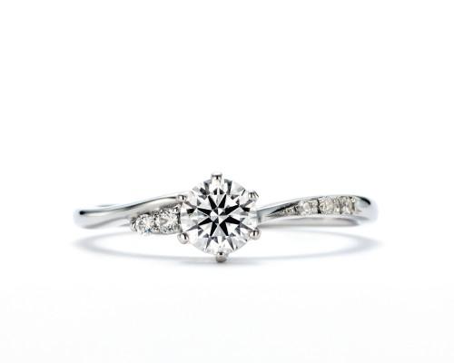 高崎工房の婚約指輪夏日星
