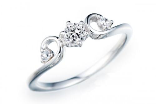 高崎工房の婚約指輪WLD-115