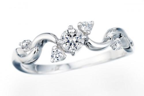 高崎工房の婚約指輪|WLD-120