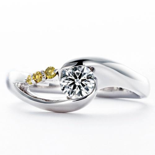高崎工房の婚約指輪wld-68