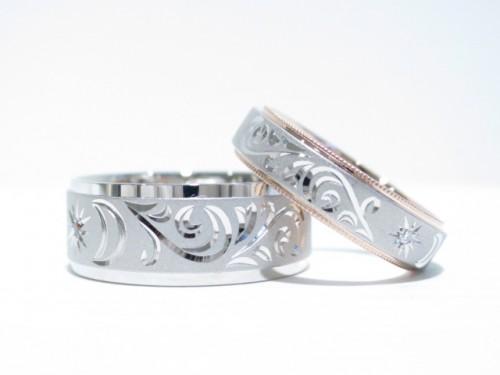 高崎工房のお客様の結婚指輪|IMG_4398