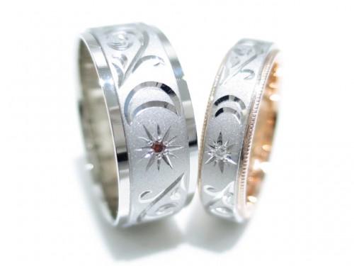 高崎工房のお客様の結婚指輪|IMG_4410