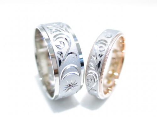 高崎工房のお客様の結婚指輪|IMG_4412