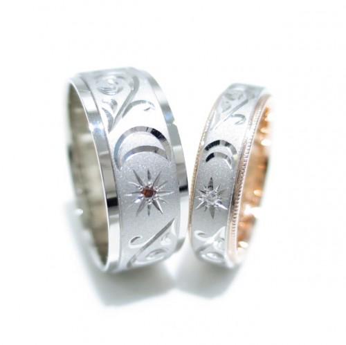 高崎工房のお客様の結婚指輪150604