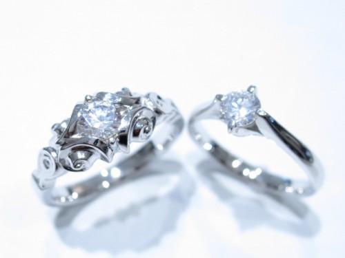 高崎工房の婚約指輪|IMG_4615