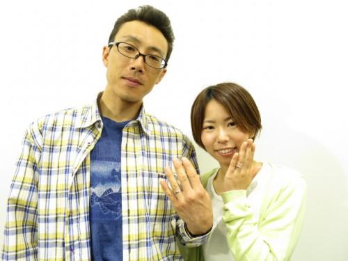 結婚指輪の完成記念|IMG_5525