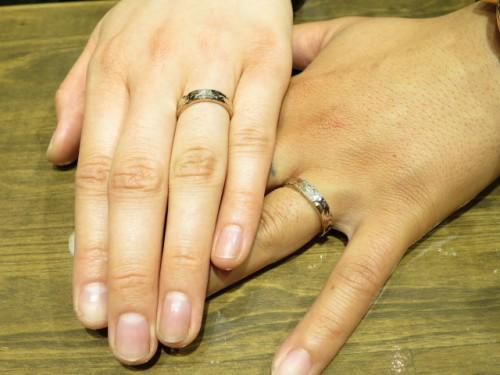 お客様の結婚指輪|IMG_9073