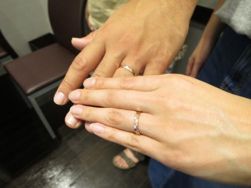 お客様の結婚指輪|IMG_2765
