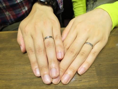 高崎工房のお客様K様M様の結婚指輪TJ-18・TJ-45|IMG_6236