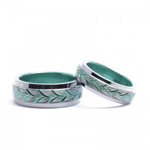 輪の結婚指輪|デメテル