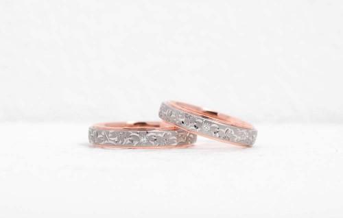 輪の結婚指輪|桜子