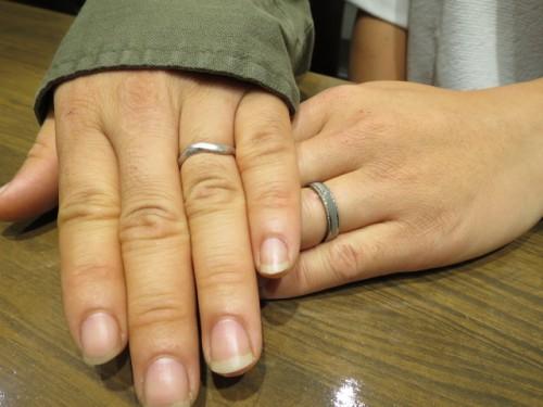 輪ファミリーの結婚指輪|IMG_9512