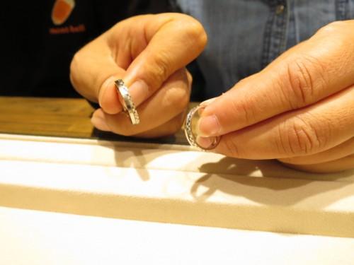 お選びになった結婚指輪|IMG_9514