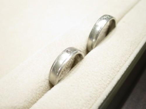 お客様の結婚指輪|IMG_9611