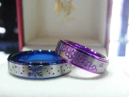 お客様の結婚指輪|アレンジ3