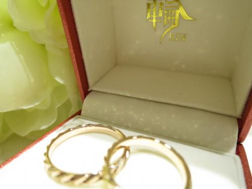 お客様の結婚指輪 IMG_2281