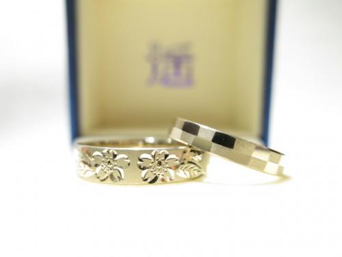 お客様の結婚指輪|IMG_2707