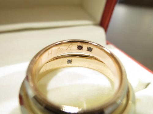 お客様の結婚指輪|IMG_2790
