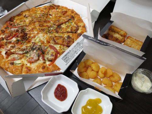 ピザーラのピザ|IMG_3093