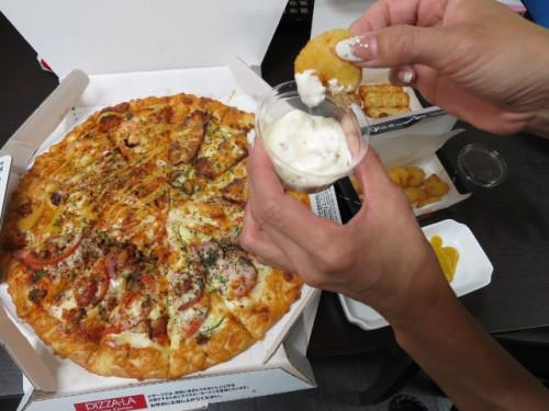 ピザーラのピザ|IMG_3095
