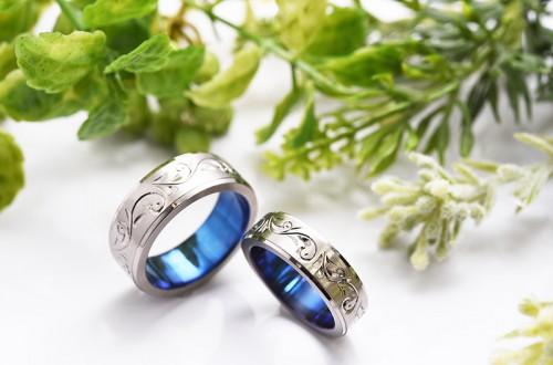館林工房の結婚指輪|アラベスク2