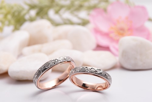 館林工房の結婚指輪|桜子