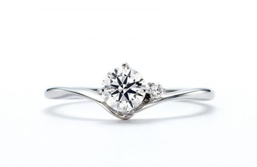 館林工房のダイヤモンドリング|羽白星