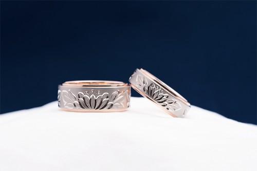 輪館林工房の結婚指輪|相聞・緋