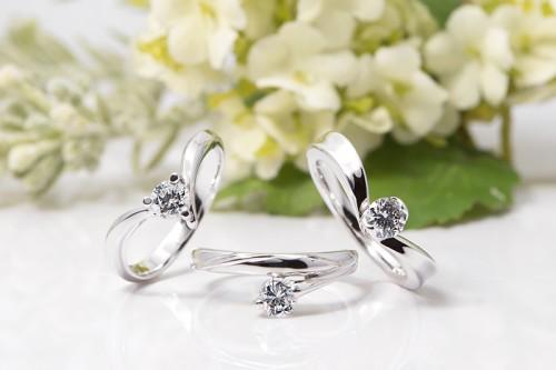 館林工房の婚約指輪|WLD-30,28,8