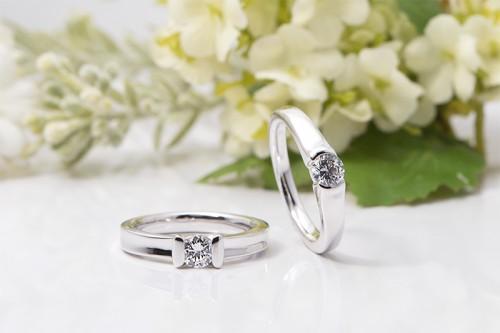 館林工房の婚約指輪|WLD_4,6