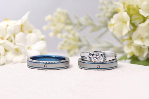 館林工房の婚約&結婚指輪1