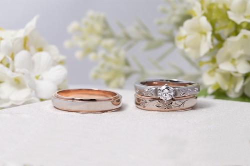 館林工房の婚約&結婚指輪2