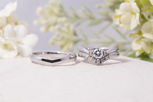 館林工房の婚約&結婚指輪3