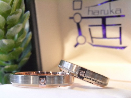 お客様の結婚指輪|HR-196-4