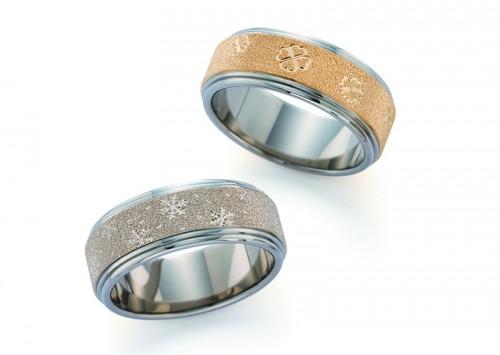 館林工房の結婚指輪|HR-218&214