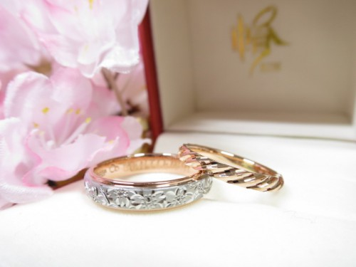 お客様の結婚指輪|IMG_9433