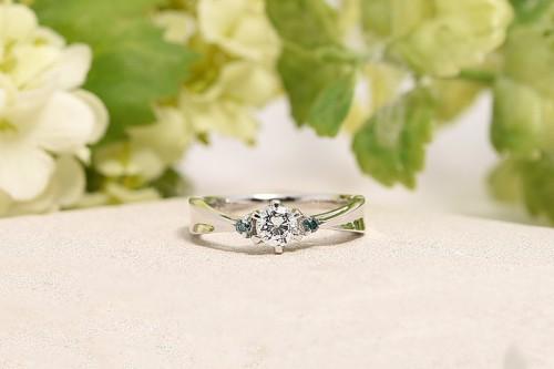 館林工房の婚約指輪|WLD-72