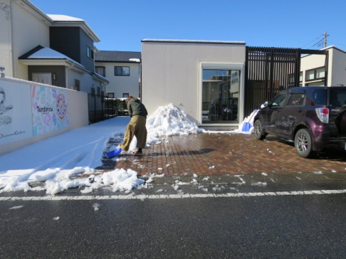 雪かき|IMG_6948